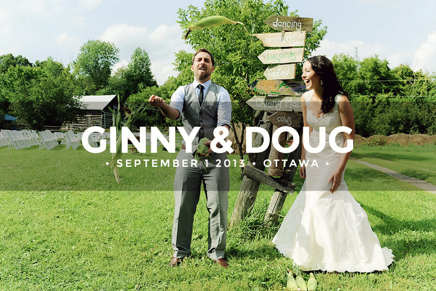 Ginny and Doug • September 1 2013 • Ottawa