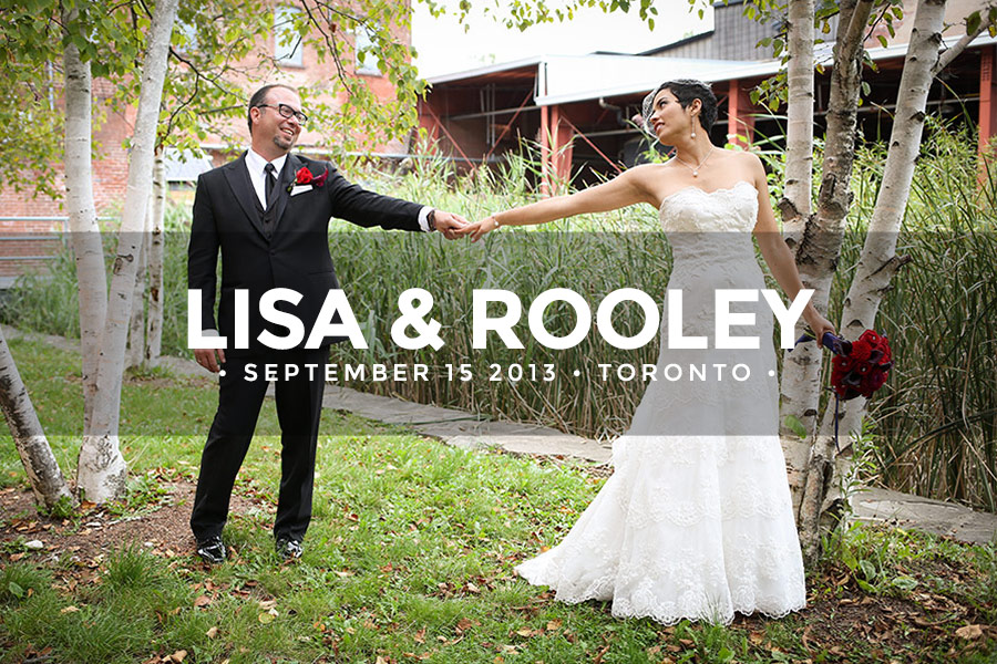 Lisa and Rooley • September 15 2013 • Toronto