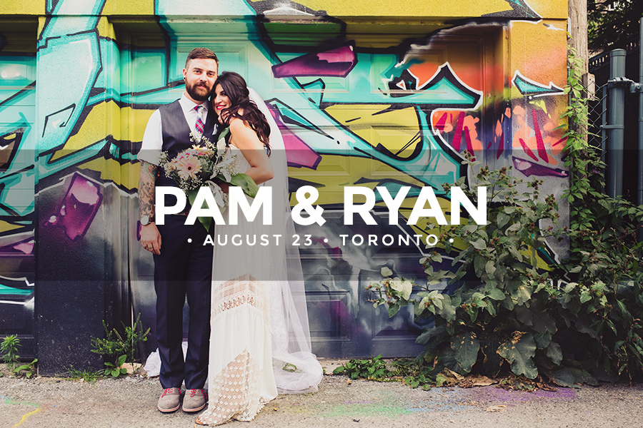 Pam & Ryan • August 23 2014 • Toronto • Queen West
