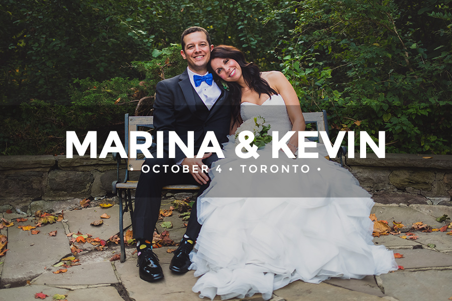 Marina & Kevin • October 4 2014 • Toronto • Estates of Sunnybrook