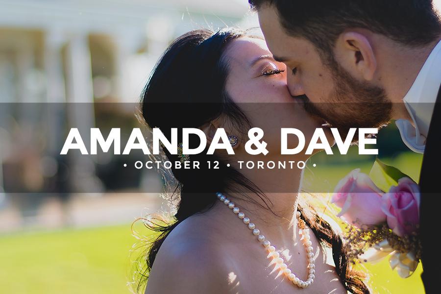 Amanda & Dave • October 12 2014 • Toronto • Diamondback Golf Club