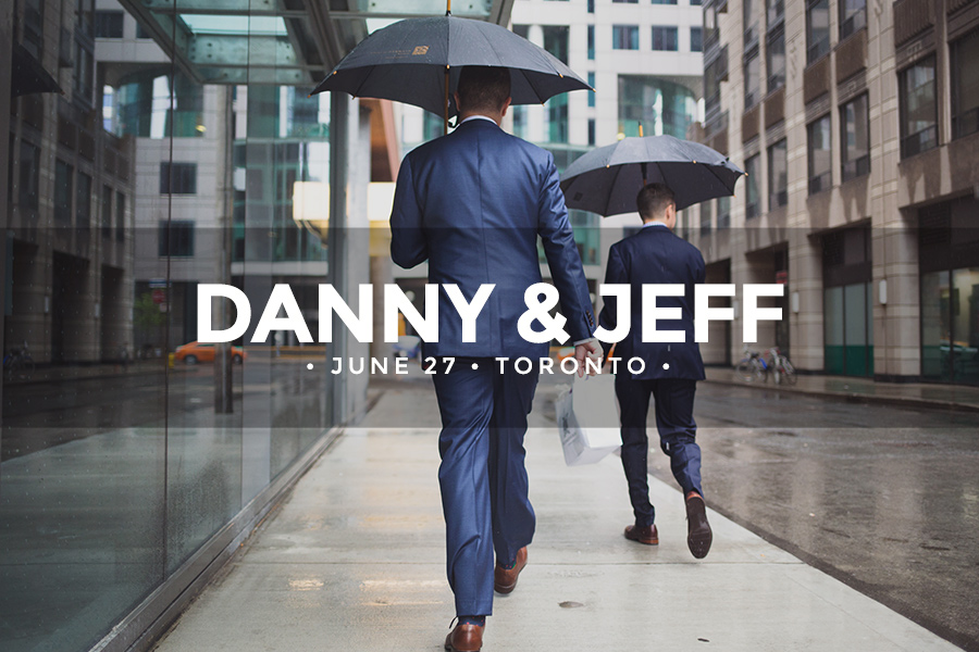 Danny & Jeff • June 27 2015 • Toronto • Malaparte