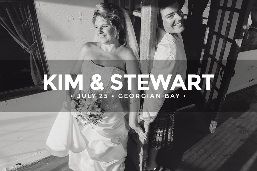 Kim & Stewart • July 25 2015 • Georgian Bay • Keewatin